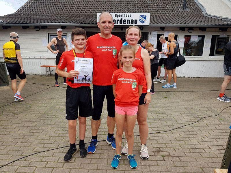 Adelheidsdorfer Läuferteam ist beim Scharnhorstlauf in Neustadt-Bordenau dabei