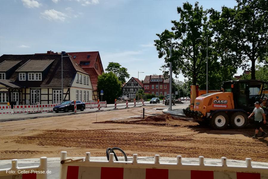 Kreuzung Nordwall/Wehlstraße/Fritzenwiese: Arbeiten kurz vor Abschluss – 14 Tage Vollsperrung