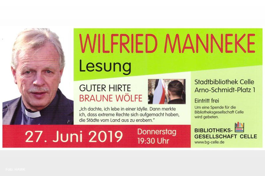 Autorenlesung mit Wilfried Manneke in Celle