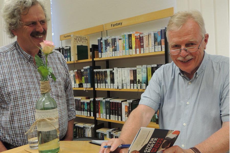 Autorenlesung mit Wilfried Manneke in der Stadtbibliothek Celle