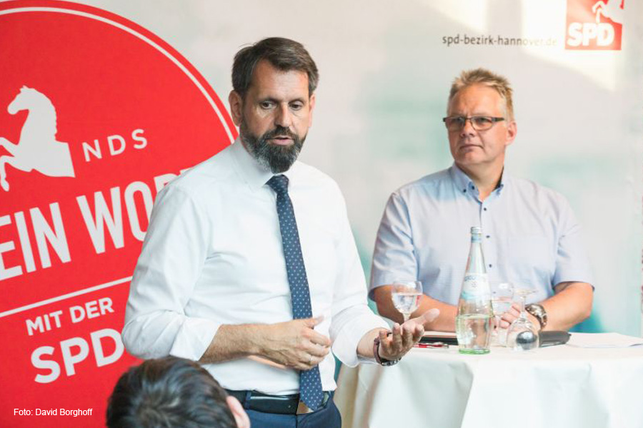 """Bürgerdialog """"Auf ein Wort"""" mit Minister Olaf Lies und SPD-Bürgermeisterkandidat Andreas Ludwig"""