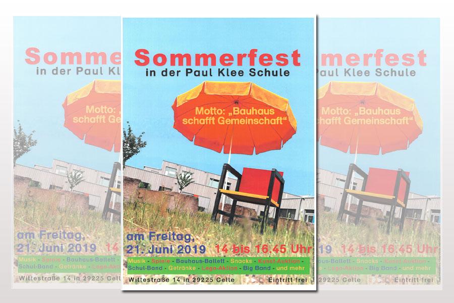 Bauhaus Sommer im Stadtteil – Bauhaus schafft Gemeinschaft –Sommerfest in der Paul-Klee-Schule