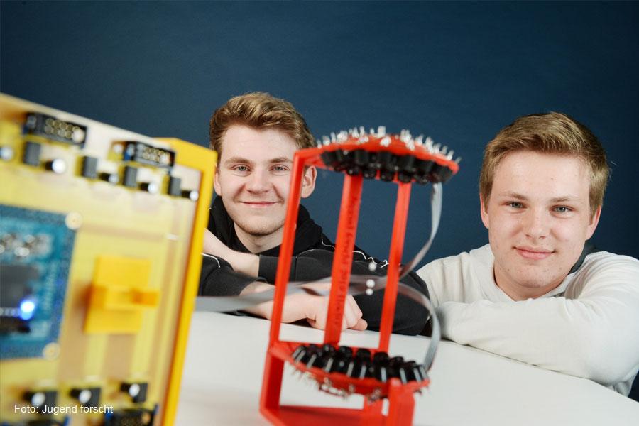 Celler Schüler erobern vierten Platz beim Bundesfinale von Jugend forscht in Chemnitz