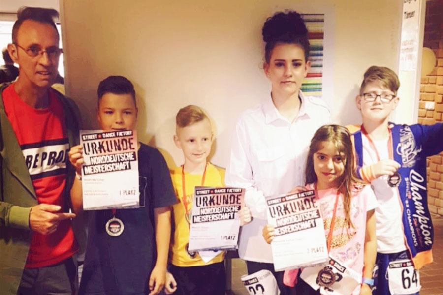 Celler Tanzschule Body Talk bei der Norddeutschen Meisterschaft erfolgreich