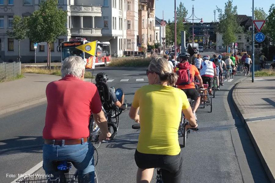 Critical Mass – auch in Celle