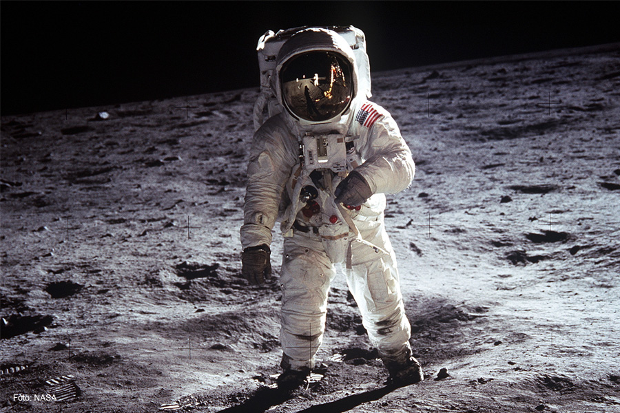 """Vortrag mit Lichtbildern """"Ein großer Schritt für die Menschheit – 50 Jahre Mondlandung"""""""