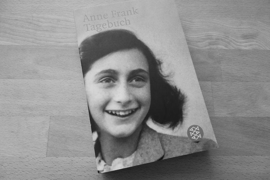 Erinnerung an Anne Frank