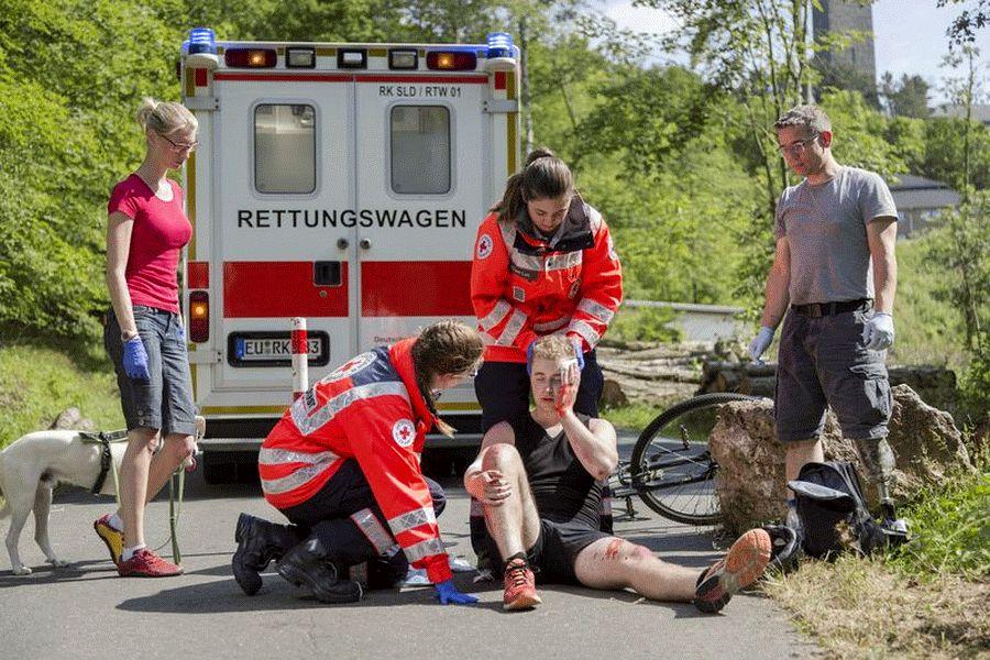 """Erste Hilfe – Sport: """"Richtig helfen können – ein gutes Gefühl!"""""""