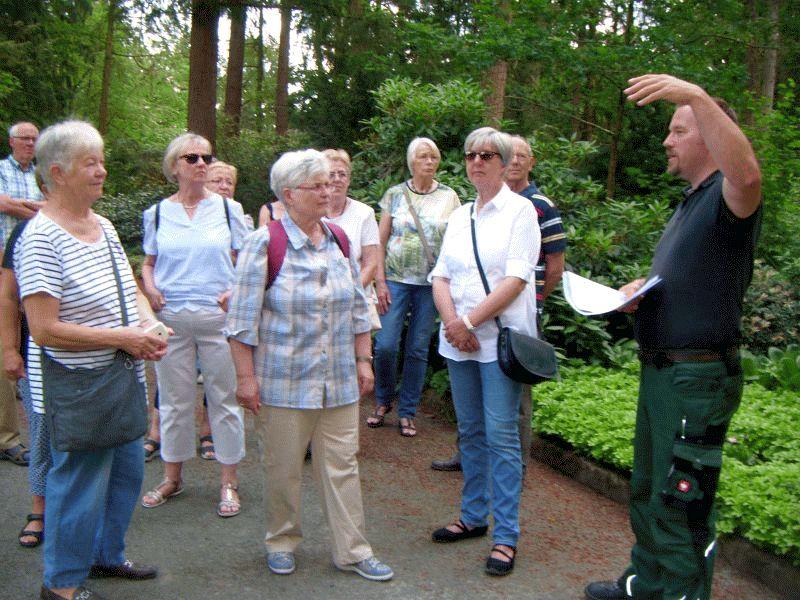 Führung über den Waldfriedhof