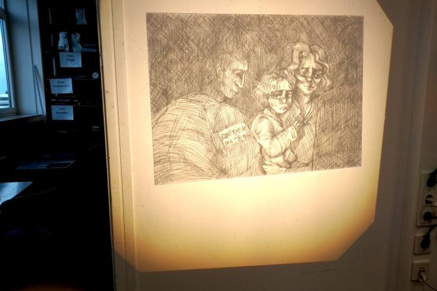 """Finissage """"Diversity"""" – eine gesellschaftskritische Kunstausstellung in der Glashalle der Kreuzkirchengemeinde"""