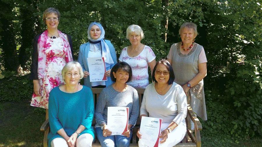GEMEINSAM! Zertifikate für ehrenamtliche Seniorenbegleiterinnen