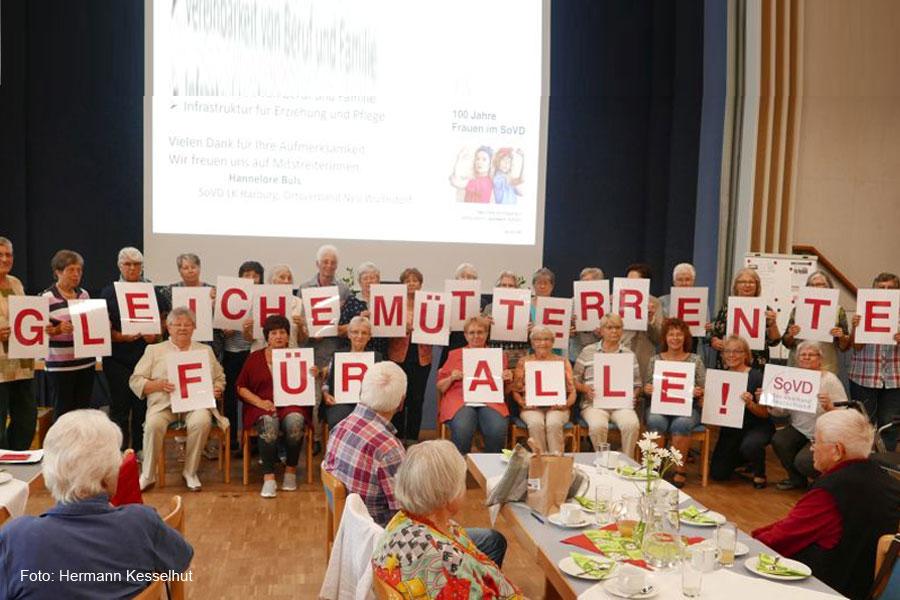 """""""Glasfaserinternet für Nienhagen"""" und """"Frauen und Rente"""" Thema beim letzten Info-Nachmittag des SoVD Ortsverbandes Nienhagen"""