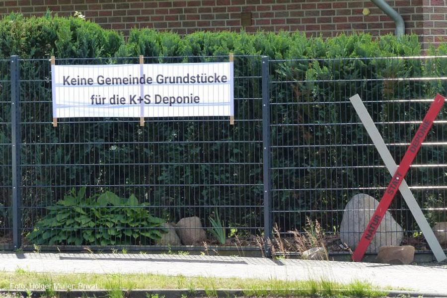 """Bürgerinitiative Umwelt Wathlingen: """"Kalihaldenabdeckung – letzte Möglichkeit für den Gemeinderat, die Bürger davor zu schützen"""""""