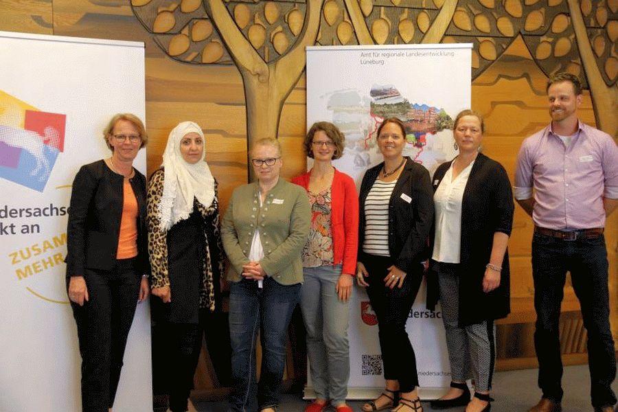 Landesbeauftragte Monika Scherf hatte zur regionalen Integrationskonferenz nach Lüneburg eingeladen – Zugewanderte Frauen in der Gesellschaft