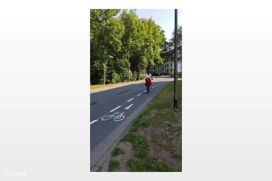 Mehr Sicherheit für Radler! – Schutzstreifen jetzt auch in der Wehlstraße