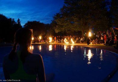 Midnight Summer im Freibad Eschede