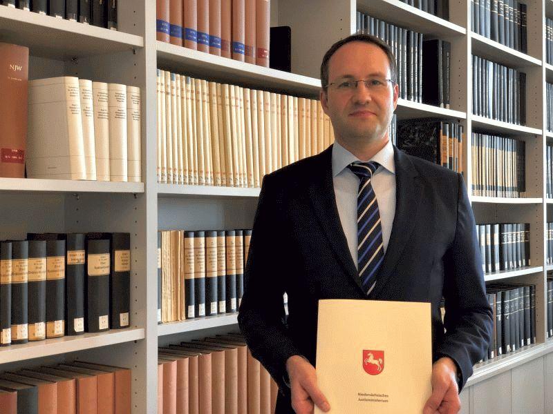 Neuer Richter am Oberlandesgericht – Dr. Steffen Wolters zum Richter am Oberlandesgericht ernannt