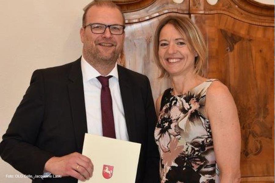 Neuer Vorsitzender Richter am Oberlandesgericht – Dirk Voß übernimmt den u. a. für Landwirtschaftssachen zuständigen 7. Zivilsenat
