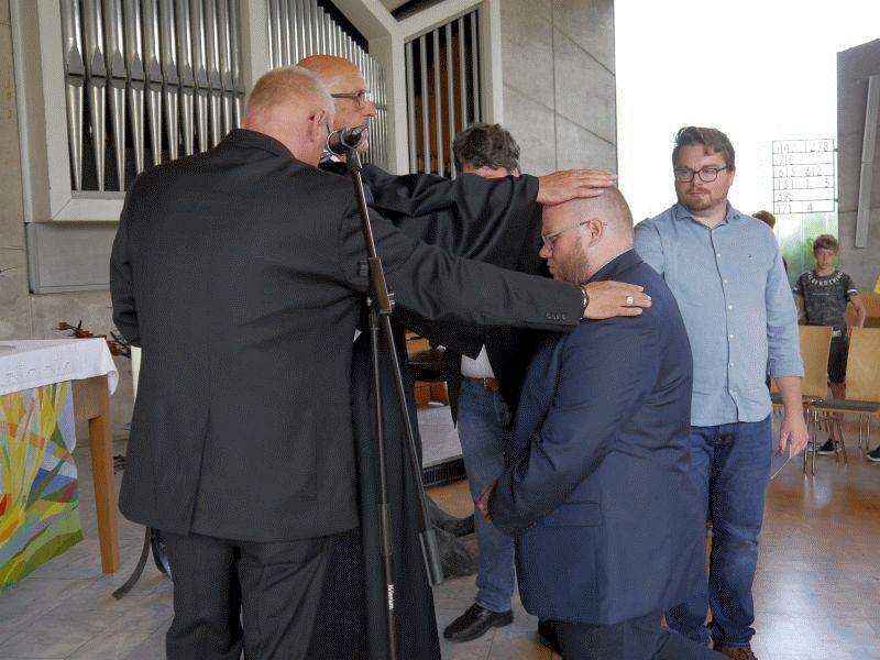 Projekt Brückenbau: Moritz Thöle-Weimar zum Diakon eingesegnet
