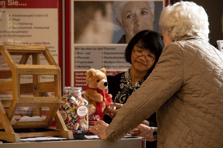 SoVD auf Seniorenmesse in Nienhagen