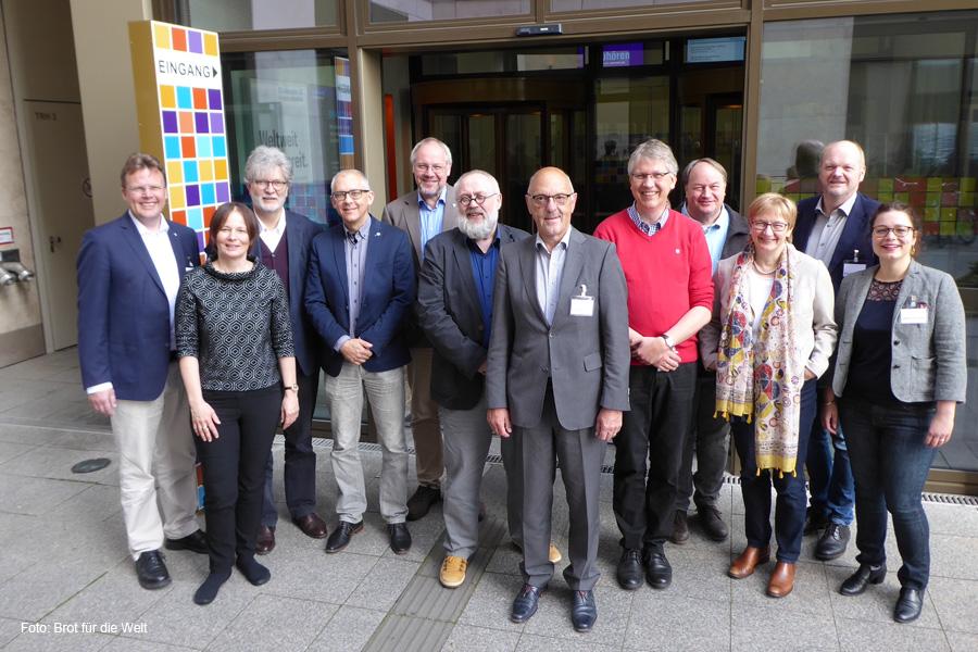 Superintendenten aus dem Sprengel Lüneburg besuchen Zentrale von Brot für die Welt in Berlin