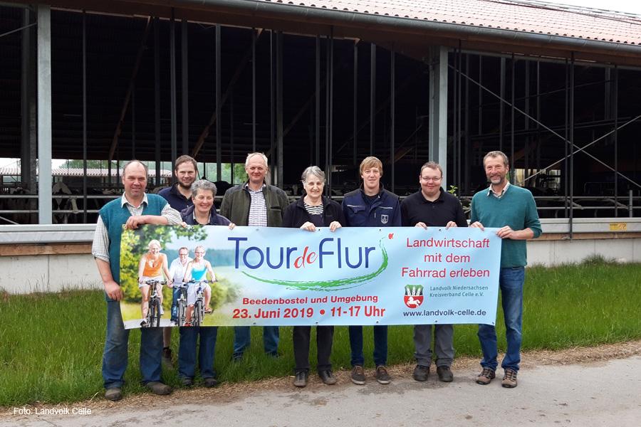 Heimische Landwirtschaft mit dem Fahrrad erleben – Tour de Flur findet in Beedenbostel und Umgebung statt