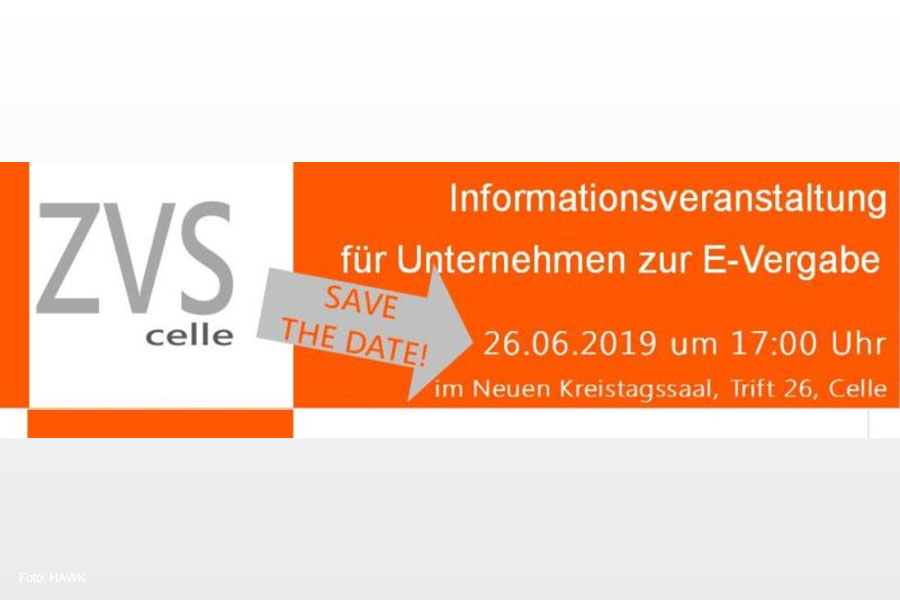Vergabestelle informiert zu E-Vergabe – Veranstaltung am 26. Juni für Unternehmen, die sich an öffentlichen Ausschreibungen beteiligen