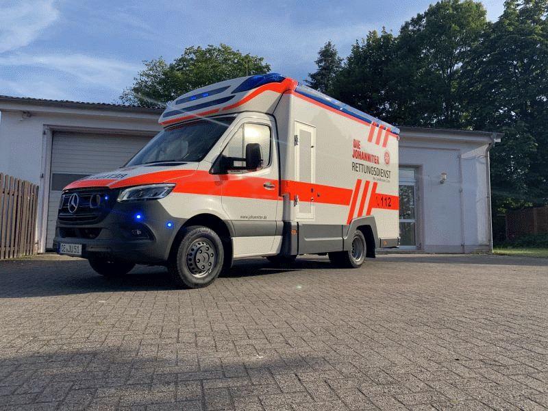Wechsel beim Rettungsdienst im Norden – Johanniter-Unfall-Hilfe übernimmt ab dem 1. Juli
