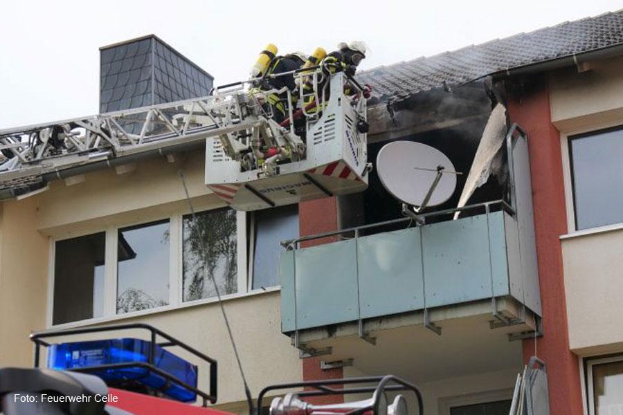 Wohnungsbrand im Leifertshorst
