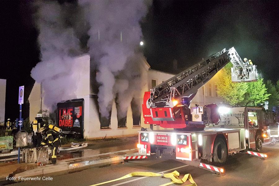 Wohnungsbrand in der Neustadt *** aktualisiert