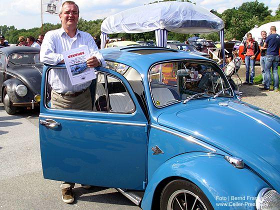350 Fahrzeuge beim 20. Käfertreffen in Celle