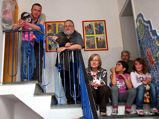 """""""Alte Schmiede"""": Aufwertung des Gebäudes mit Fliesenkunst"""