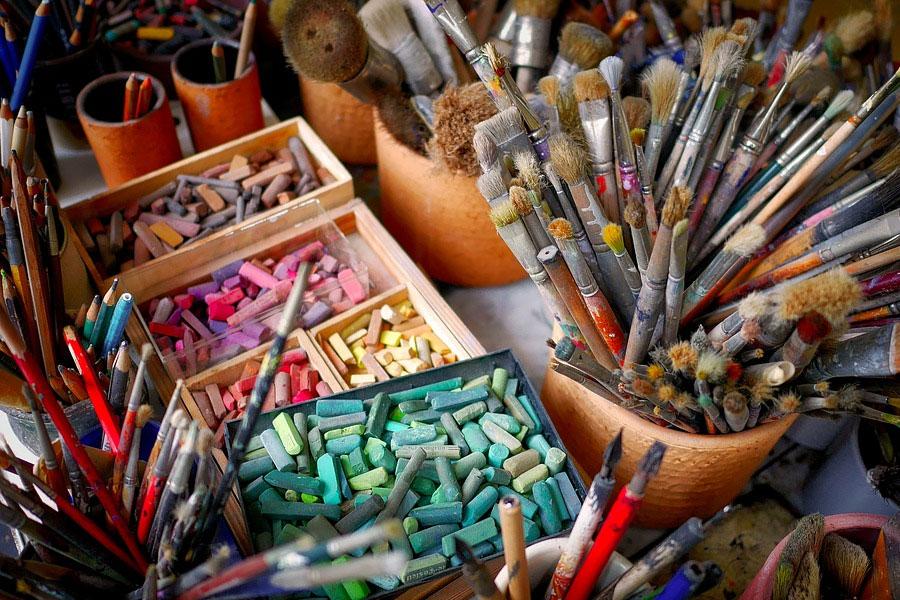 Offenes Atelier-Wochenende am 20. & 21. Juli 2019 – Samstag und Sonntag von 13 bis 18 Uhr
