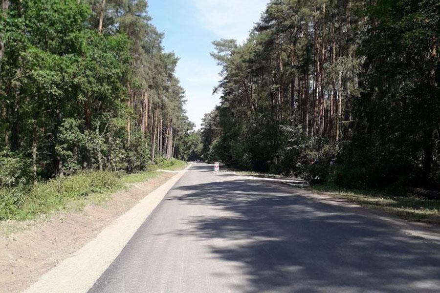 Ausbau der Straße Tannenpark fast abgeschlossen
