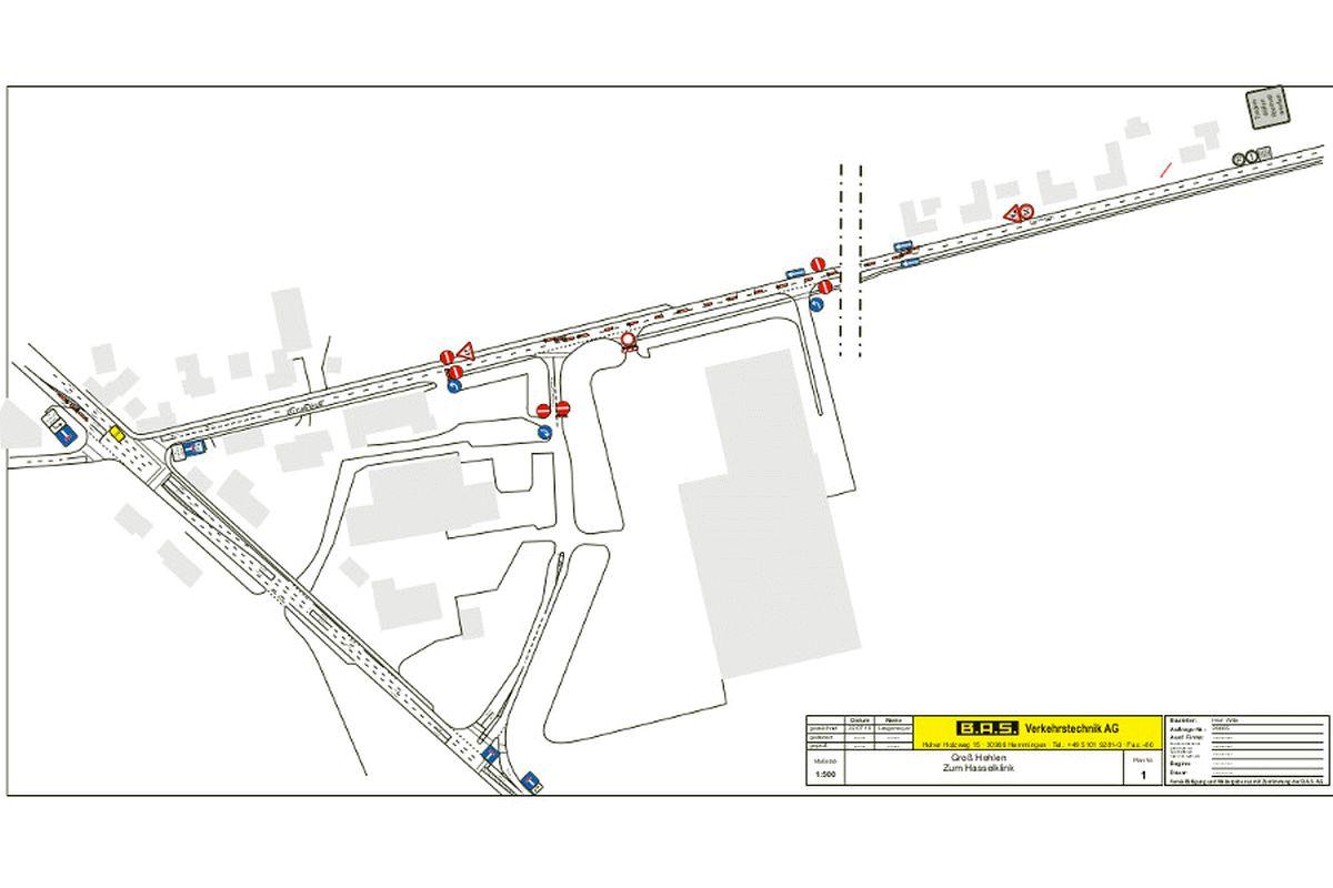 """Baugebiet """"Im Tale"""": Erschließung startet plangemäß – Zur Hasselklink wird in Teilen zur Einbahnstraße"""