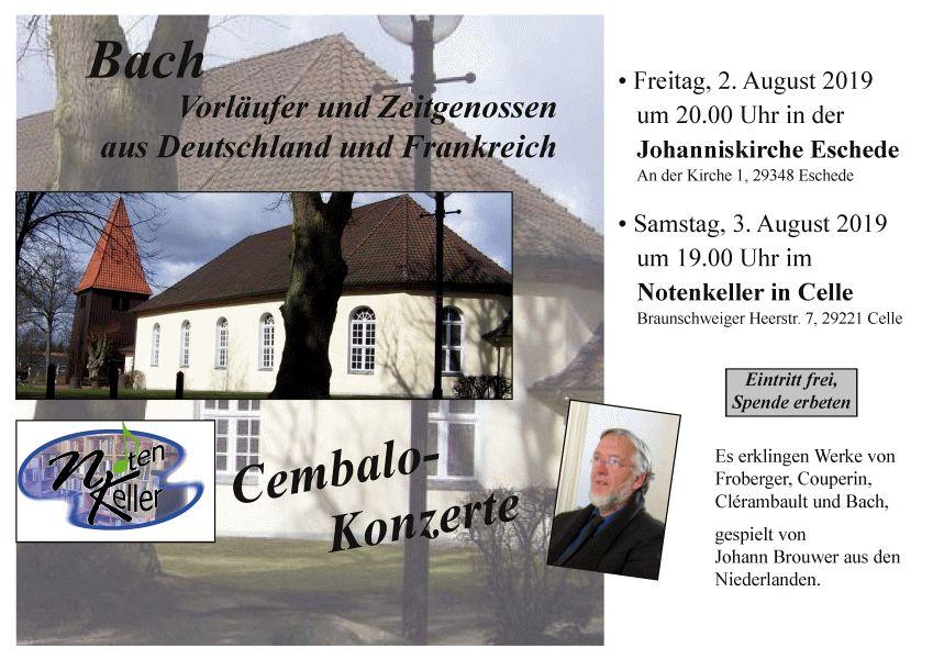 Cembalo-Konzerte im Celler Land