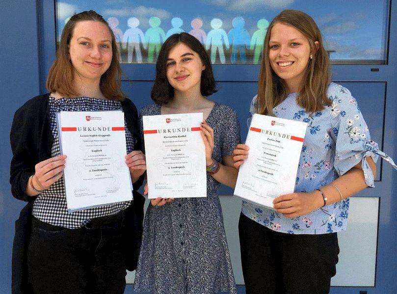 Erneut drei Landespreise ans Ernestinum beim Bundeswettbewerb in den modernen Fremdsprachen