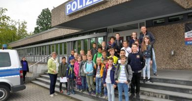 Ferienpass-Aktion für Stadtkinder bei der Polizeiinspektion Celle