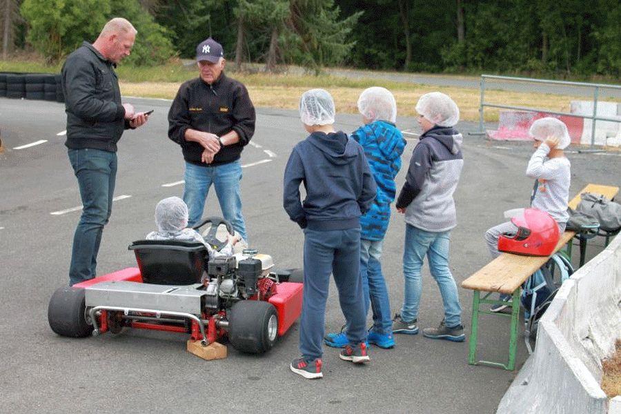 Ferienpassaktion mit dem Motor- und Touring-Club e.V.  Faßberg im ADAC