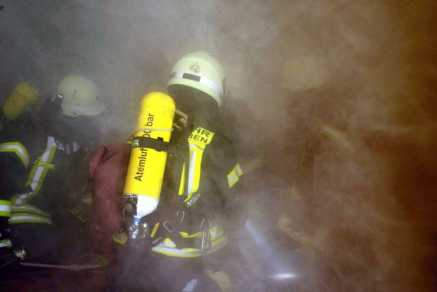 Gemeinsame Übung der Feuerwehren Nienhagen und Fallersleben