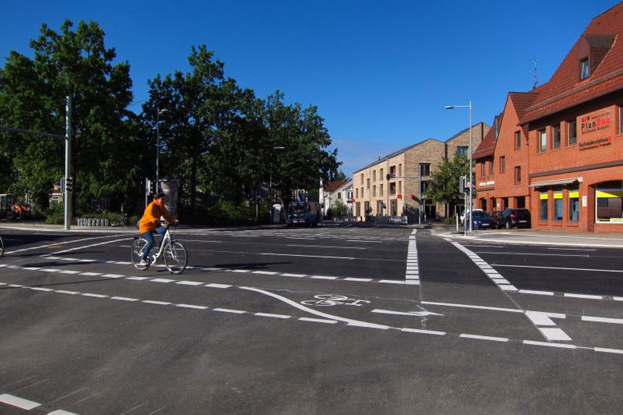 """VCD: """"In der Kreuzungs-Konzeption Nordwall/Wehlstraße/Fritzenwiese kommen die Belange von Fußgängern und Radfahrern zu kurz"""""""