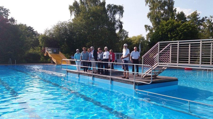 Neue Sprungtürme und sanierte Pumpentechnik – Betrieb vom Freibad Eschede ist gesichert