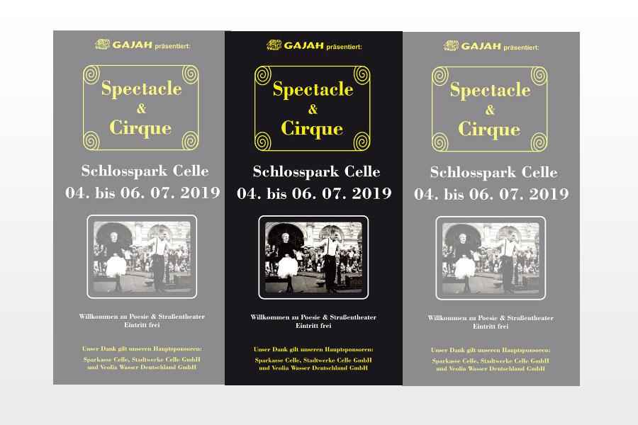 Spectacle & Cirque vom 4. bis 6. Juli 2019 im Schlosspark Celle
