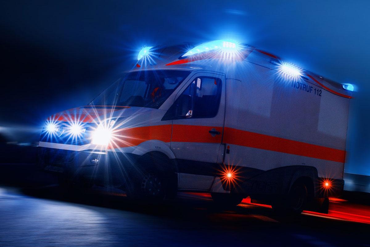 Verkehrsunfall mit schwerverletzter Person