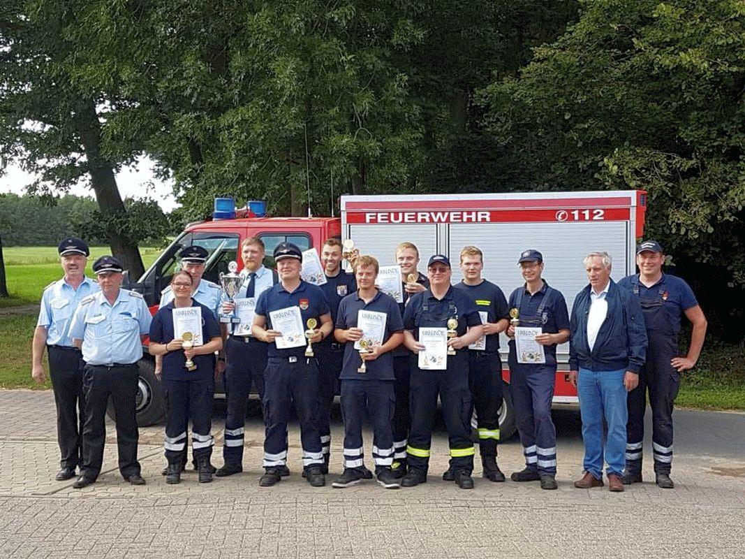 Stadtleistungsvergleiche der Freiwilligen Feuerwehren der Stadt Bergen