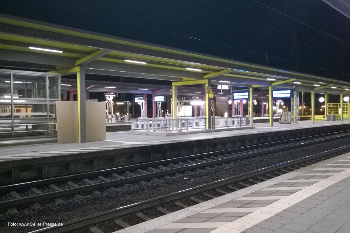 Der Bahnhof soll schöner werden: Erhöhung der Aufenthaltsqzualität auf dem Celler Bahnhof
