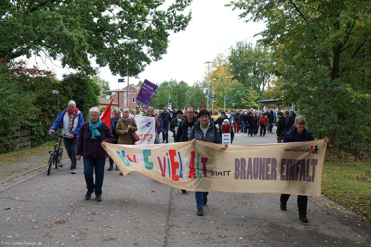 Grüne rufen zur Demo gegen Nazitreffen in Eschede auf