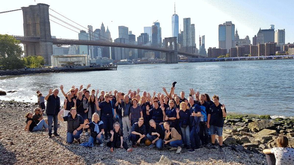 Die Kreisfeuerwehrmusiker grüßen aus New York