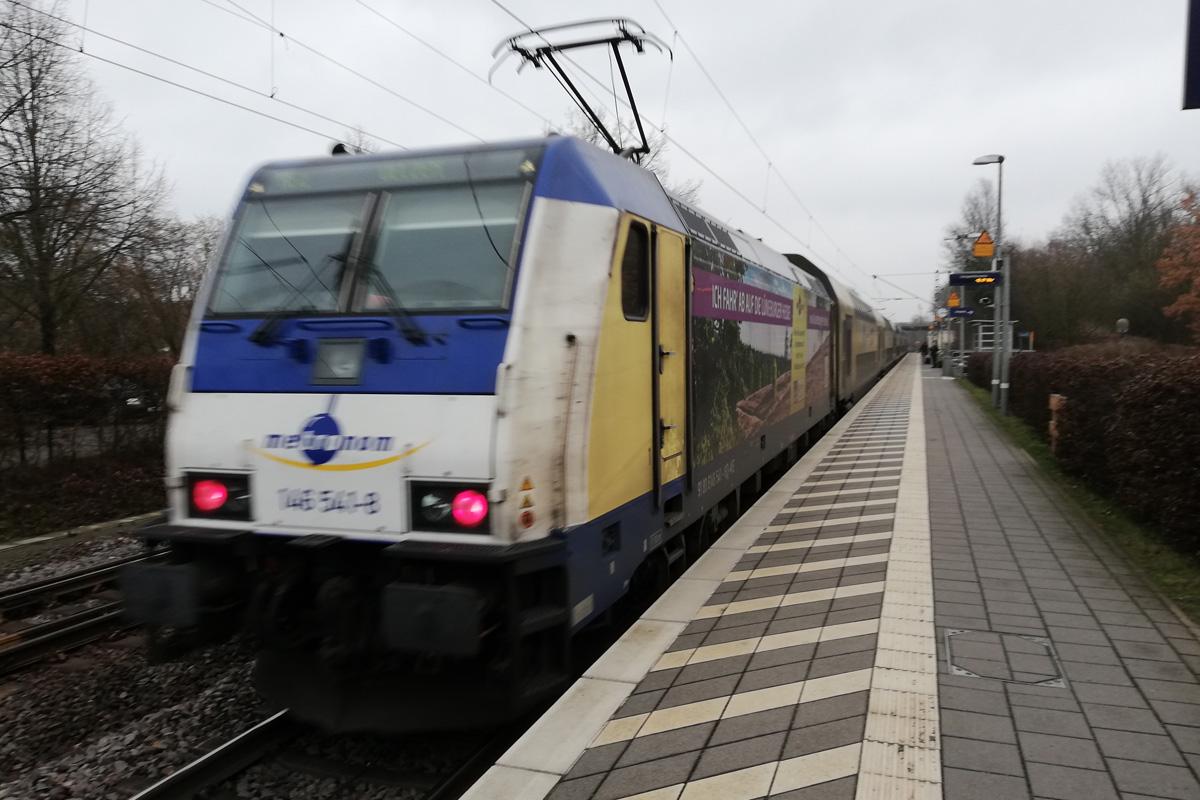 Alle Strecken des metronom: Zugverkehr wird geordnet eingestellt