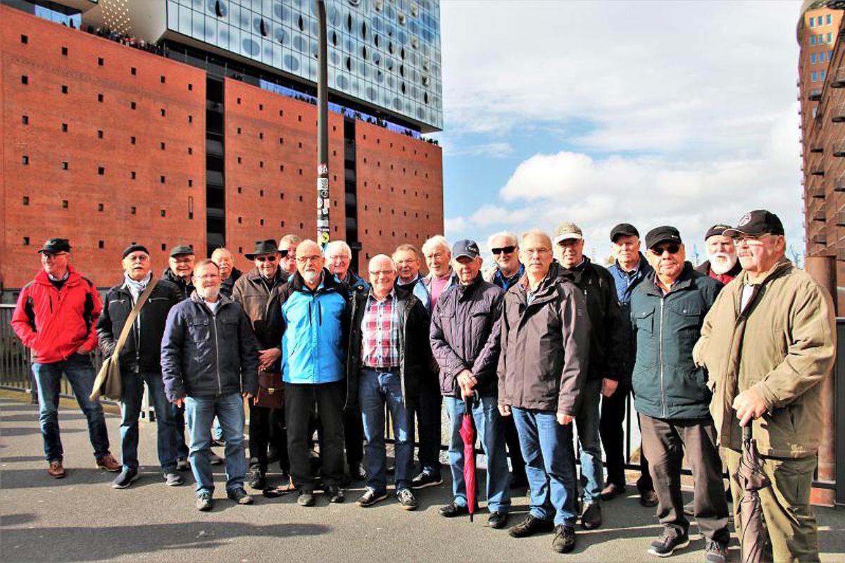 Altenhägener Seniorenschützen besuchen Hamburg